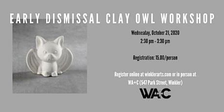 Clay Owl Workshop tickets