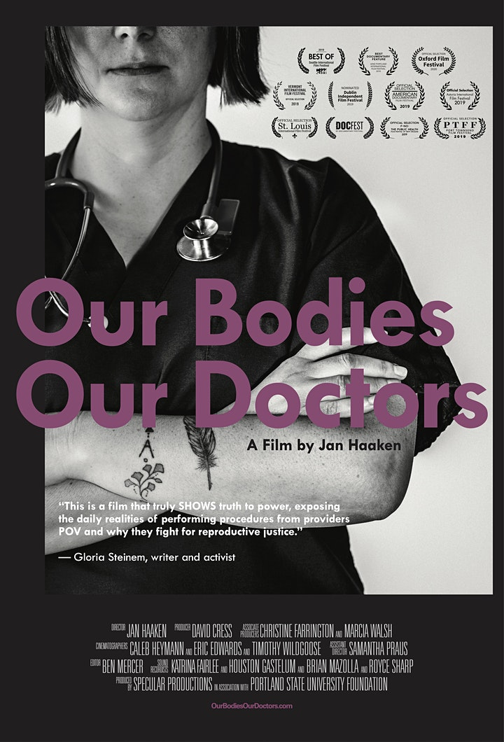 OUR BODIES OUR DOCTORS: watch the film and join an online panel discussion image