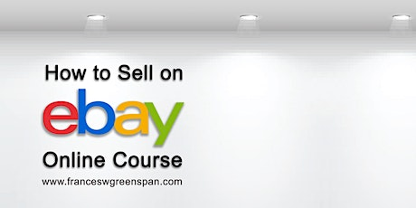 How to Sell on eBay - Virtual Q & A tickets