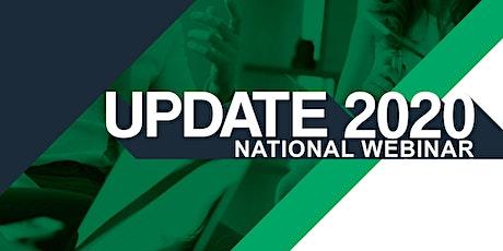 Update 2020 National Webinar