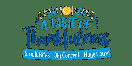 A Taste of Thankfulness tickets