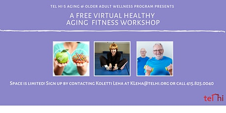 Free Virtual Healthy Aging Fitness Workshop tickets
