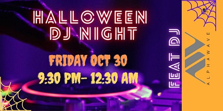 Halloween with DJ Alphawave tickets