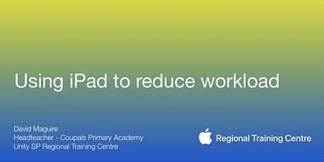 Using iPad to reduce workload tickets