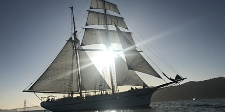 Halloween Sunset  & Full Moon Sail aboard brigantine Matthew Turner tickets