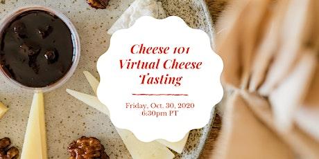 Cheese 101, Virtual Cheese Tasting tickets
