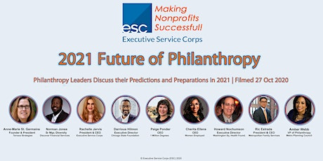 2021 Future of Philanthropy tickets