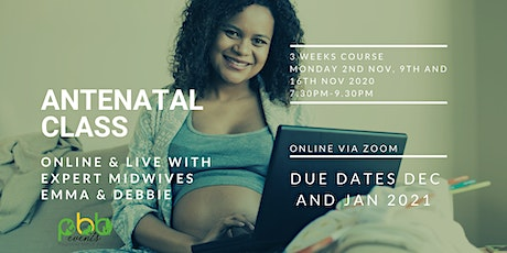 Antenatal Classes for Due dates in December/January