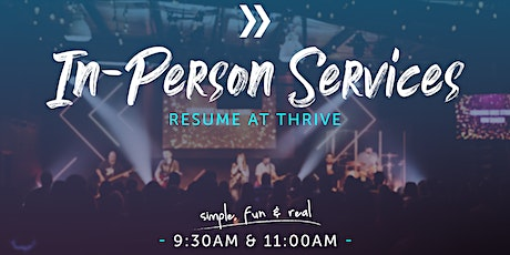 In-Person Services @ Thrive tickets