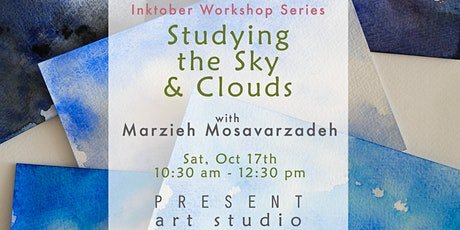 Inktober Workshop: Studying the Sky & Clouds - Oct17, 10:30 am-12:30 pm tickets