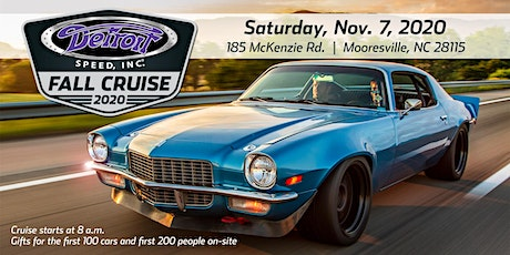 Detroit Speed Fall Cruise 2020 tickets