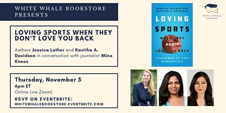 Loving Sports When They Don't Love You Back w/ Luther, Davidson, Kimes tickets