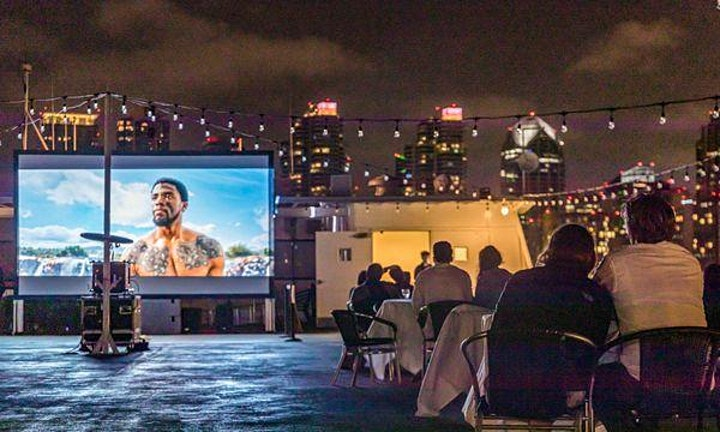 Dinner & A Movie on the Bay -Footloose image