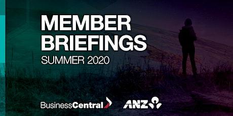 Member Briefing  Summer 2020 - Napier tickets