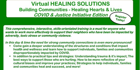 Healing Solutions - Virtual - Fall Training tickets