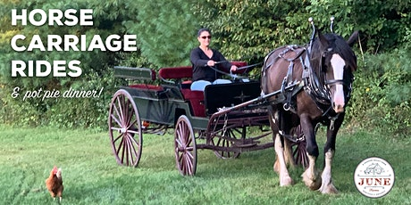 Fall Horse Carriage Rides & Pot Pie Dinner tickets