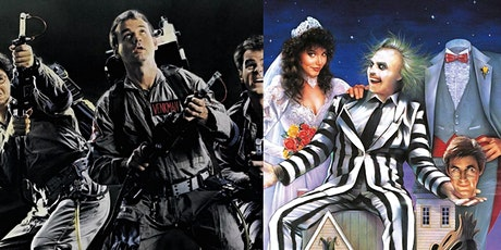 GHOSTBUSTERS & BEETLEJUICE Two Feature Halloween-O tickets