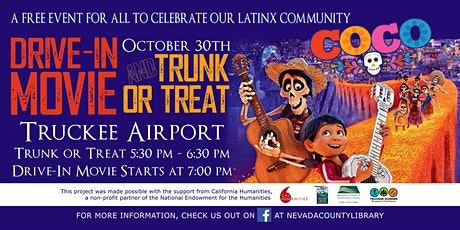 Truckee Drive-In Movie / Trunk or Treat - 1st Come 1st Serve - Tix not req. tickets