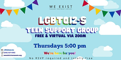 LGBTQI2-S Teen Support Group tickets