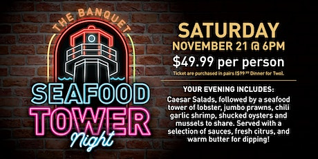 Seafood Tower Night tickets