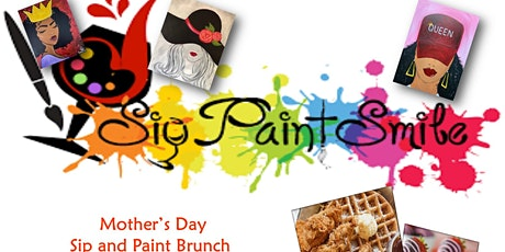 Mother's Day Sip and Paint Brunch Chicken & Waffle tickets