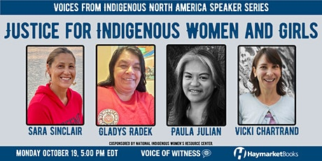 Justice for Indigenous Women and Girls tickets