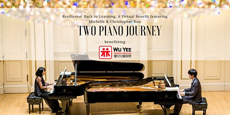 Resilience: Back to Learning, A Virtual Benefit featuring Two Piano Journey tickets