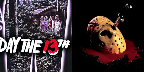 FRIDAY THE 13TH PARTS 1 & 4 (FINAL CHAPTER) Two Fe tickets