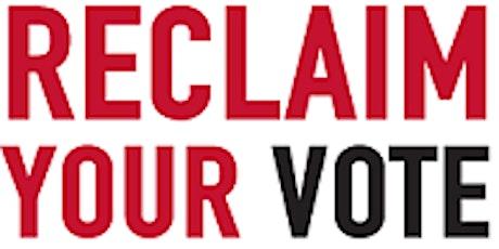 Voter Registration Event at DTLR tickets