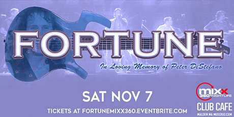 Fortune live at Mixx 360 Club Cafe tickets