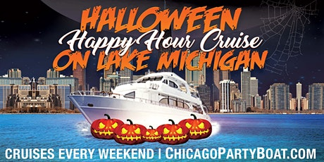 Halloween Happy Hour Cruise on Lake Michigan tickets