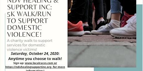 NDV Healing & Support Inc. 5K run/walk to support DV victims tickets