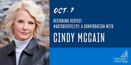 Restoring Respect #ActsOfCivility: A Conversation with  Cindy McCain tickets