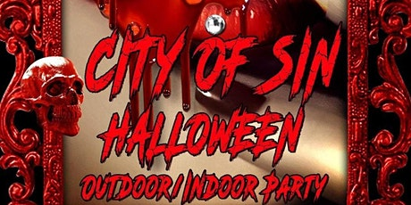 City of Sin Halloween Party tickets