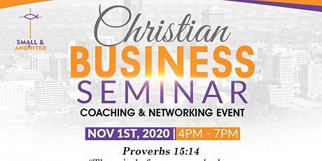 Business Christian Seminar-Coaching & Networking event tickets