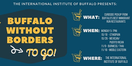 Buffalo Without Borders TO GO 2020 Single Night Tickets tickets