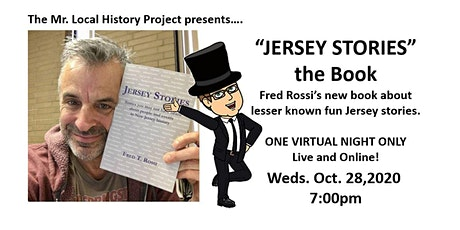 "JERSEY STORIES - ""Stories you may not have heard"" tickets"