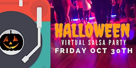 Salseros Halloween Virtual Party tickets