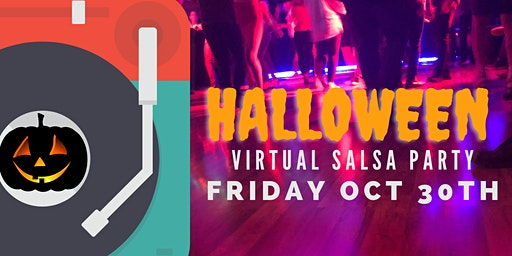 Salseros Halloween Virtual Party