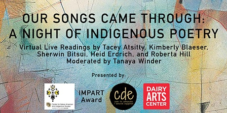 Our Songs Came Through: A Night of Indigenous Poetry tickets