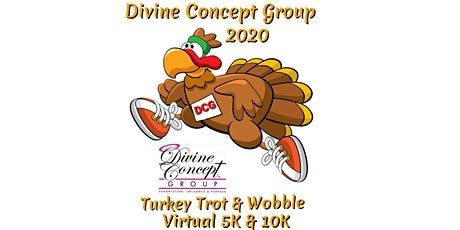 DCG 2020 Turkey Trot & Wobble Virtual 5K/10K tickets