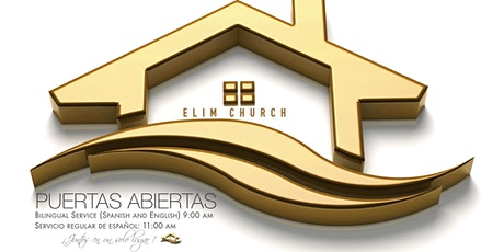 Elim Church Service | Puertas Abiertas | Open Doors boletos
