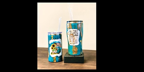 Create Your Own Resin Tumbler tickets
