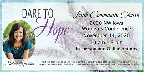 2020 NW Iowa Women's Conference:  Dare to Hope tickets