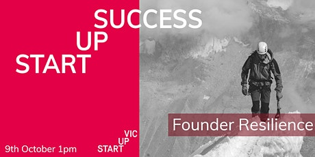 Startup Success Series: Founder Resilience tickets