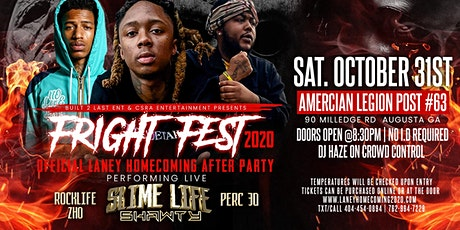 "FRIGHT FEST 2020 ""SLIME LIFE SHAWTY LIVE "" LANEY HOMECOMING AFTERPARTY tickets"