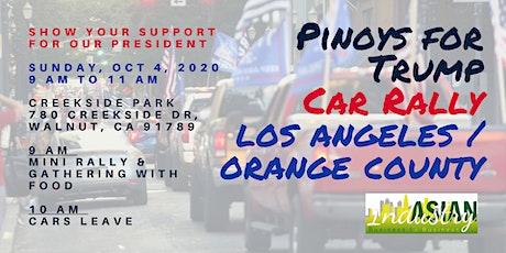 Filipinos For Trump Car Rally tickets