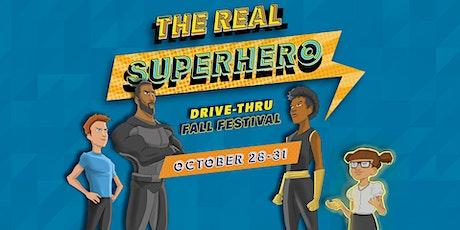GCC Presents: A Drive-Thru Fall Festival: The Real Superhero (Saturday) tickets