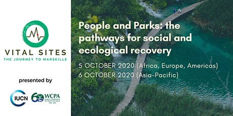 People and Parks: the pathways for social and ecological recovery tickets