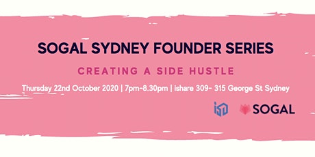 SoGal Sydney: Creating a Side Hustle tickets
